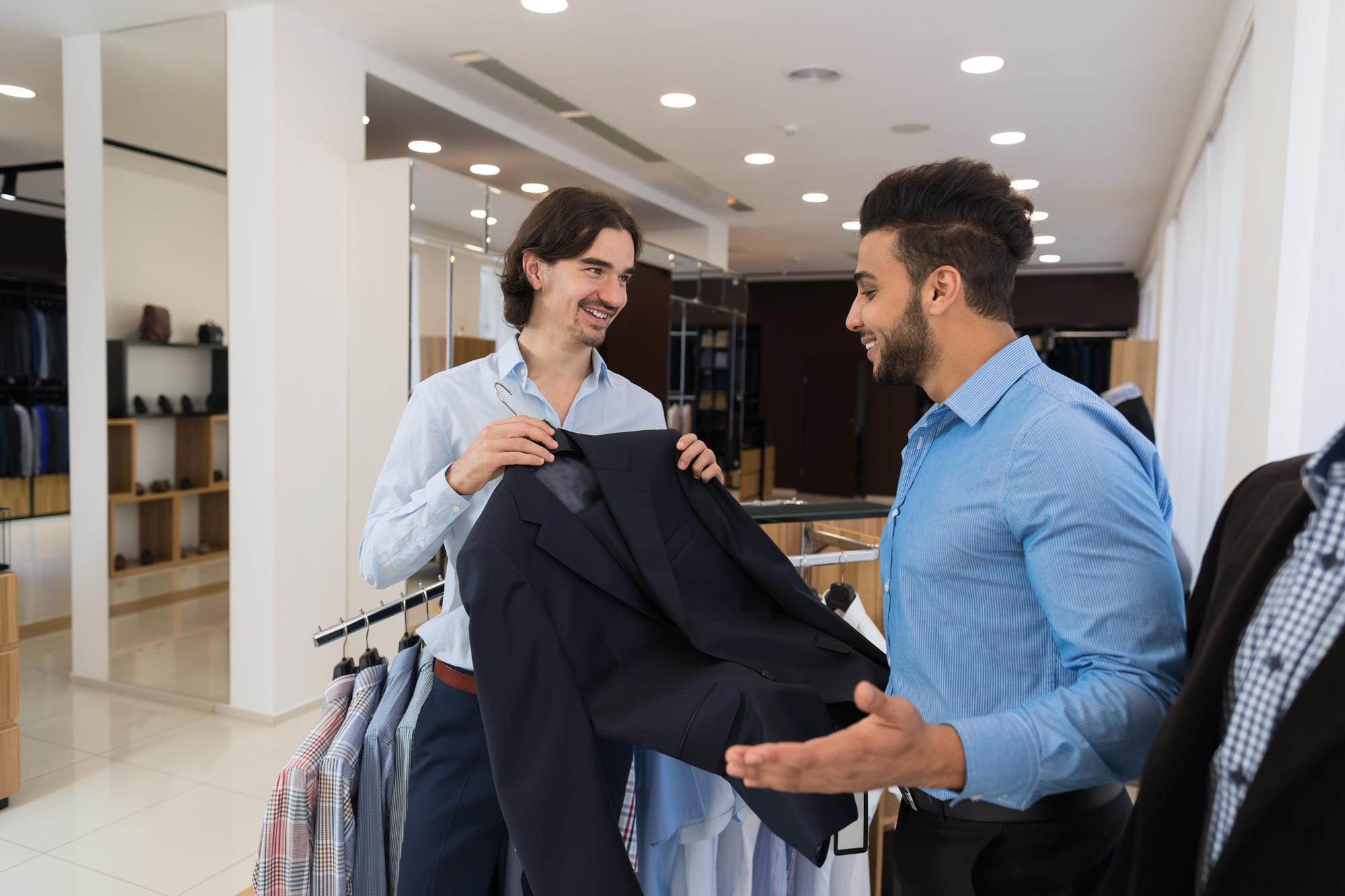 海外の服のサイズを選ぶ